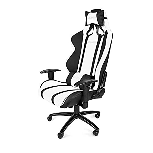 akracing ak6011 ergonomic series racing style gaming office chair blackwhite
