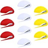 SATINIOR Letter Opener Plastic Paper Opener Envelope Knife for Office, Home, Carry-on, Quick, Safe and Convenient,10 Pack (Mix Color)