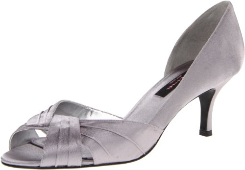 Nina Women's Culver-YS Dress Pump,Silver,8 M US