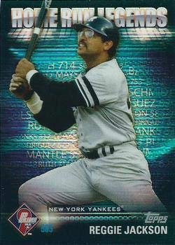2012 Topps Prime Nine Home Run Legends #HRL-4 Reggie Jackson Yankees Baseball Card NM-MT