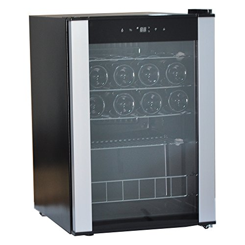 Smad 19 Bottles Wine Refrigerator Compressor Single Zone Free Standing Wine Cooler with Touch Control by Smad (Image #9)