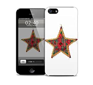 xmas star iPhone 5 / 5S protective case