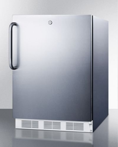 Built-in under-counter, manual defrost, -25 degree C upright freezer by Summit Appliance