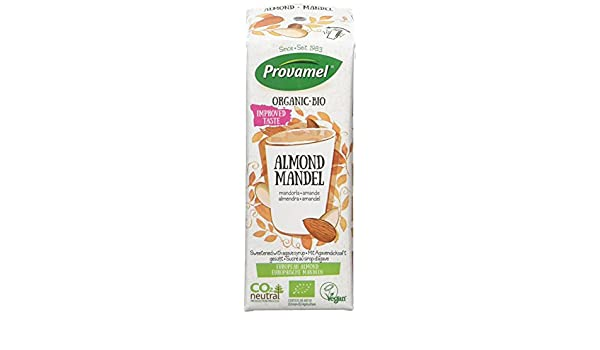 Amazon.com : Provamel Organic Almond Drink 250ml (Pack of 15) : Grocery & Gourmet Food