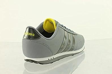 adidas V Racer Leder F39324 Neo Label, Herren Sneaker, Grau