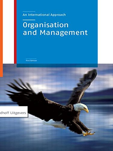 Organization and Management: An International Approach