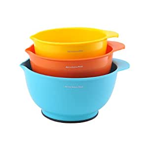 Amazon Com Kitchenaid Classic Mixing Bowls Assorted