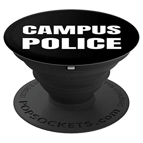 Campus Police Officer University Policeman Security Uniform PopSockets Grip and Stand for Phones and Tablets]()