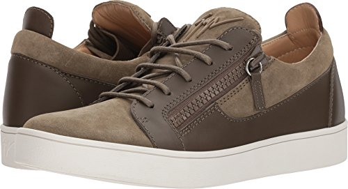 Giuseppe Zanotti Men's Brek Suede Low Top Sneaker Jasmin for sale  Delivered anywhere in USA