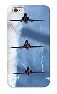 New Aircraft Airplanes Aerobatics Smoke Jets Military Fighters Tpu Case Cover, Anti-scratch Standinmyside Phone Case For Iphone 6