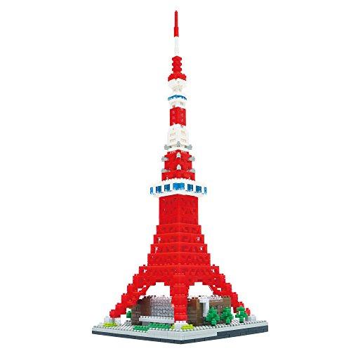 nanoblock Tokyo Tower Deluxe Edition NB-018 by Kawada (Image #2)