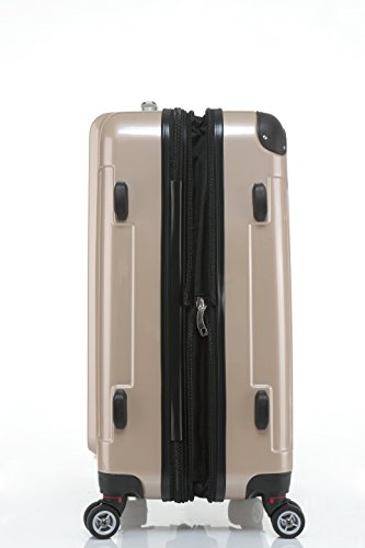 41cp PpF%2BRL - Beibye - Juego de 3 maletas rígidas (tamaños XL, L y de mano), color lila