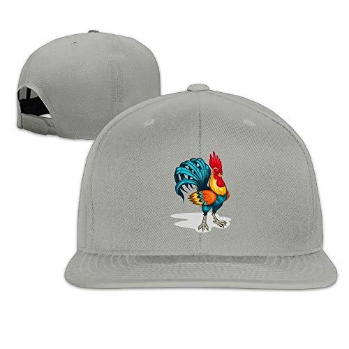 Cappello solido sicuro e Snapback Hop da baseball Hip unisex Sunbonnet Cenere Bill ARwAZrq
