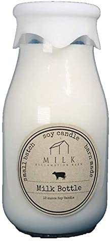 13 oz Bless Your Heart Milk Reclamation Barns Milk Bottle Candle