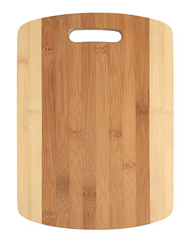 BAMBUROBA Bamboo Cutting Board Chopping Board for Kitchen (Wood Cutting Board Circle)