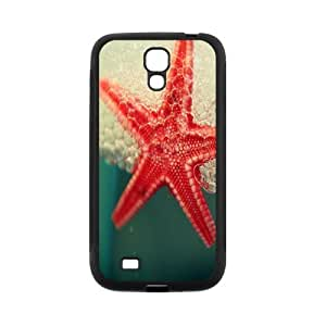 FEEL.Q- Custom Rubber Back Fits Cover Case for Samsung Galaxy S4 S IV I9500 - Sea Star