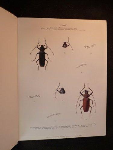 Atlas des Longicornes de France : Peints d'après nature Relié – 1986 Robert Bijiaoui Éd. La Duraulié 2906057037 Cérambycidés