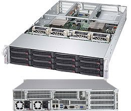 New Supermicro 2U SuperServer 6028U-TRT+ with full warranty
