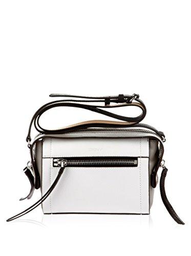 DKNY, Borsa a tracolla donna bianco Bianco / grigio