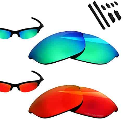3a7b45c9d9988 BlazerBuck Polarized Replacement Lenses for Oakley Half Jacket - 2 Pairs