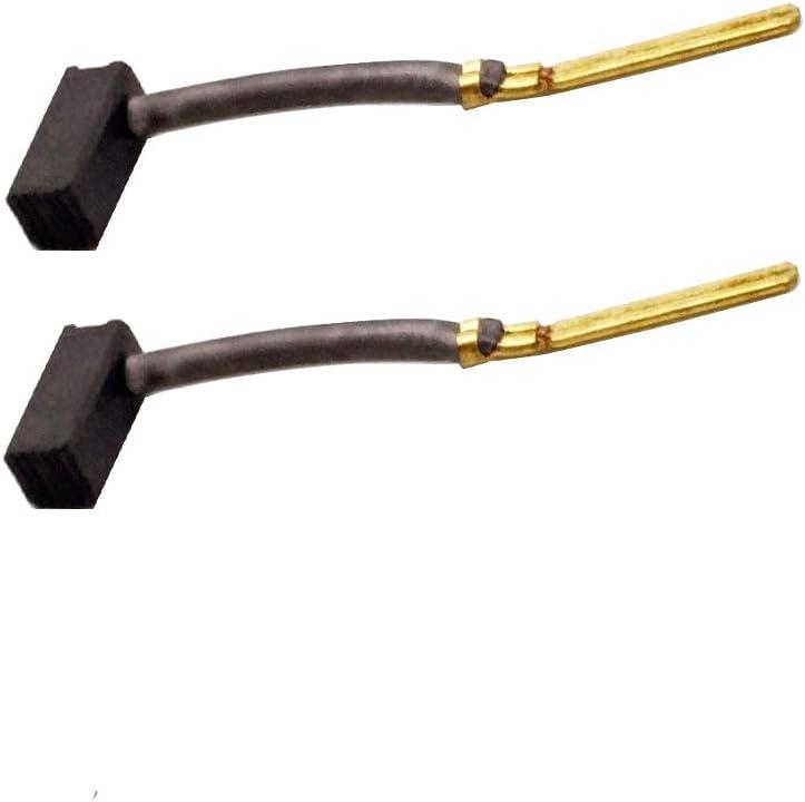 445861-25 M18 Carbon Brush 2 Pack For DeWalt/Black & Decker Power Tools 445861-03 DW402 D26450 DW160 445861-25