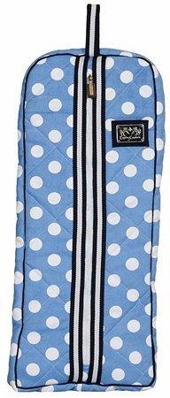 - Equine Couture Emma Bridle Bag, Light Blue/Navy, Standard