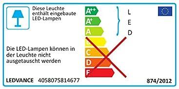 f/ür Au/ßenanwendungen warmwei/ß 155,0 mm x 167,0 mm x 44,0 mm Ledvance Floodlight Led Fluter Leuchte