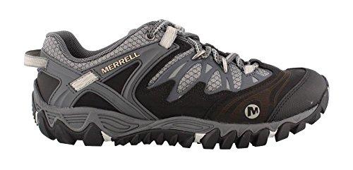 Merrell Mens All Out Blaze Hiking ShoeBlackSilver115 M US