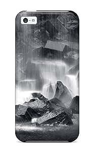 AmandaMichaelFazio Premium Protective Hard Case For iphone 6 4.7 inch- Nice Design - Waterfall Earth Nature Waterfall
