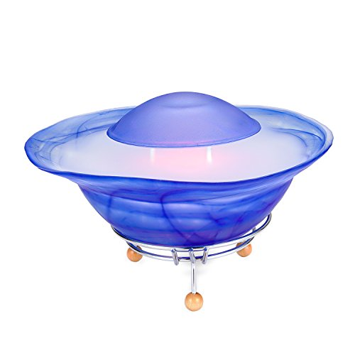 CNZ Fantasy Tabletop Mist Fountain with 12-LED Color Changing (Blue)