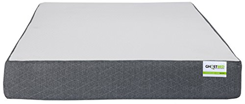 Ghostbed Mattress-Queen 11 Inch-Cooling Gel Memory Foam-Mattress in a Box-Most Advanced Adaptive Gel Memory Foam–Coolest Mattress in America-Made in the USA–Industry Leading 20 Year Warranty by Ghostbed