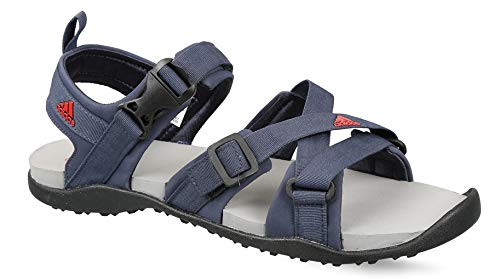 d6e30f817 Adidas Men s Gladi Trablu Scarle Silvmt Sandals-6 UK India (39 1 3 ...