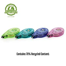 Tombow Mono Retro Correction Tape Assorted Colors, 10-Pack