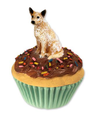 (Conversation Concepts Australian Cattle Red Dog Pupcake Trinket Box (Set of 6))