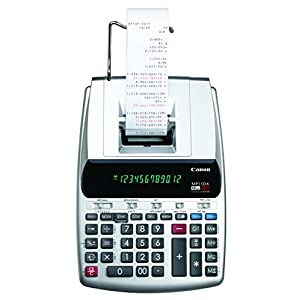 Canon MP11DX-2 Desktop Printing Calculator with Currency Conversion, Clock and Calendar