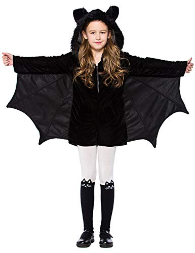 A&J DESIGN Toddler Girls' Vampire Bat Costume