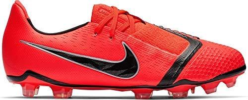 Nike Youth Phantom Venom Elite FG Soccer Cleats (4 M US Little Kid, Bright Crimson)