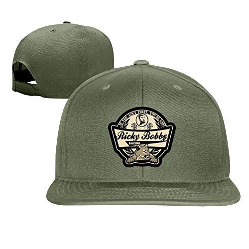UdlJud Ricky Bobby Racing Casual Baseball Cap Adjustable Mesh Hats Trucker Cap for Men Women Green