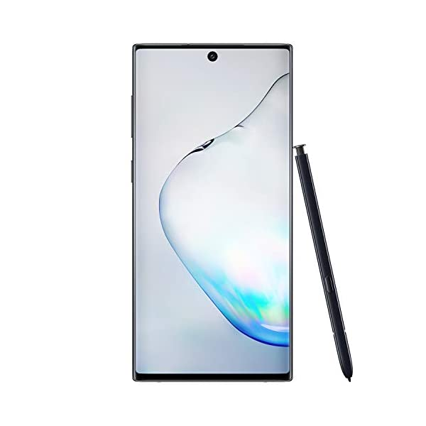 Samsung Galaxy Note 10+ Plus Factory Unlocked Cell Phone with 256GB (U.S. Warranty), Aura Glow (Silver) Note10+ 4