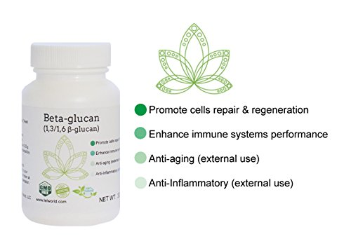 Yeast Beta Glucan   70   30 G  Great For Skin And Immune System