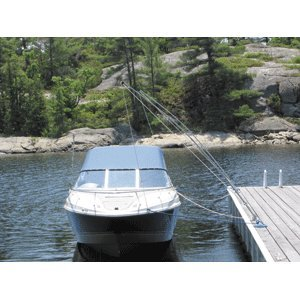 Dock Edge Premium Mooring Whip 2PC 16ft 20,000LBS up to 33ft