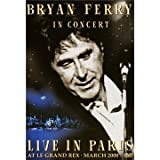 Bryan Ferry Live in Paris at Le Grand Rex