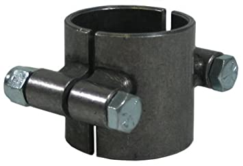 NEW SOUTHWEST SPEED UNIVERSAL STEEL CLAMP COLLAR FOR CLAMPING TO 1 1/2' ROUND TUBING, EASY TO WELD TO, ENABLES YOU TO MOUNT SHOCKS, BARS, ETC TO ROUND TUBING 570-170