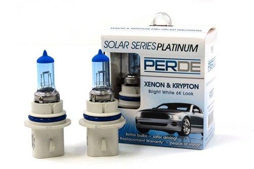 Light White 9004 Bulb (93-98 Jeep Grand Cherokee PERDE Xenon 9004 Headlight Light Bulbs Diamond White 6000K)