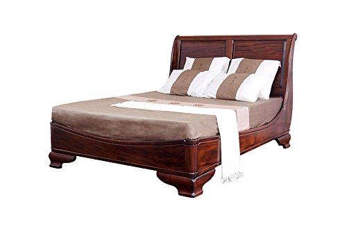 Laurel Crown King Size French Sophie Sleigh Bed