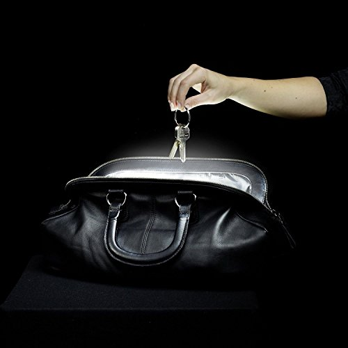 SOI. Mini - The Original Handbag Light: No More Searching in Your Bag/Purse, Automatic Motion Sensor, Light Switches On with Moving Hand, Automatically Turns Off in 10 Seconds, Made in Germany (Mini) by Brainstream (Image #4)