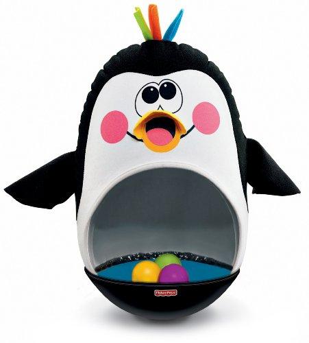 Fisher Price Baby Bat Wobble Penguin