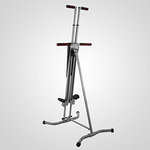 LCD Vertical Climber Stepper Climbing Machine Home Use Digital Calorie 200Kg by Happybeamy (Image #8)'