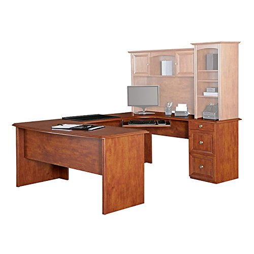 Used, Realspace Broadstreet Contoured U-Shaped Desk, Desk for sale  Delivered anywhere in USA