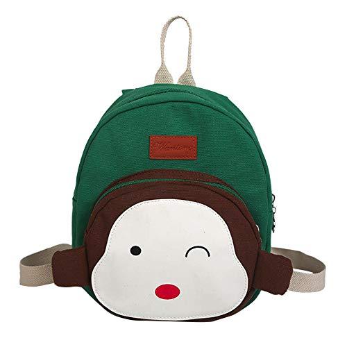 Dinosaur Backpacks for Kids,Child Baby Girl&Boy Kids Cartoon Monkey Animal Backpack Toddler School Bag,Luggage & Travel Gear